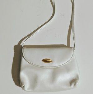 Vintage Liz Claiborne Pearl White Mini Crossbody
